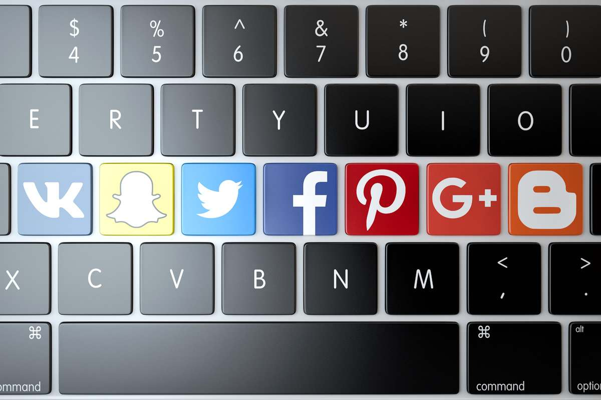 Register multiple social accounts