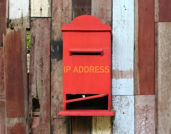 IP addresses allow the Internet to find you