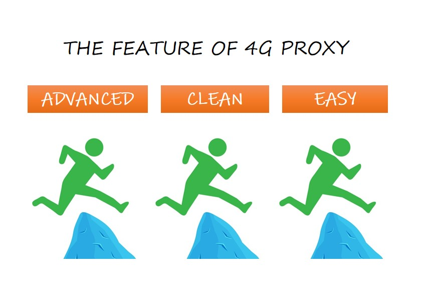 the feature of 4g proxy