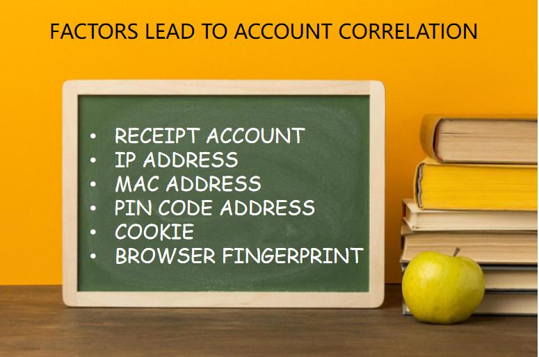 factors lead to account correlation