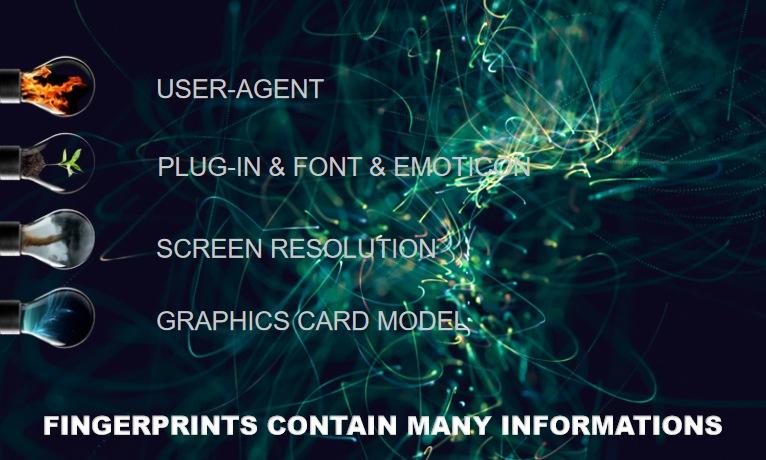 fingerprints contain many informations